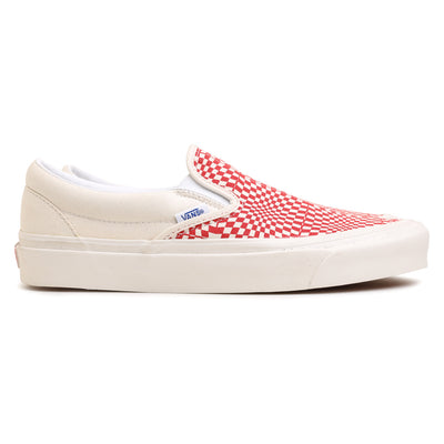 Vans Slip On 98 DX Anaheim Factory | Red - CROSSOVER