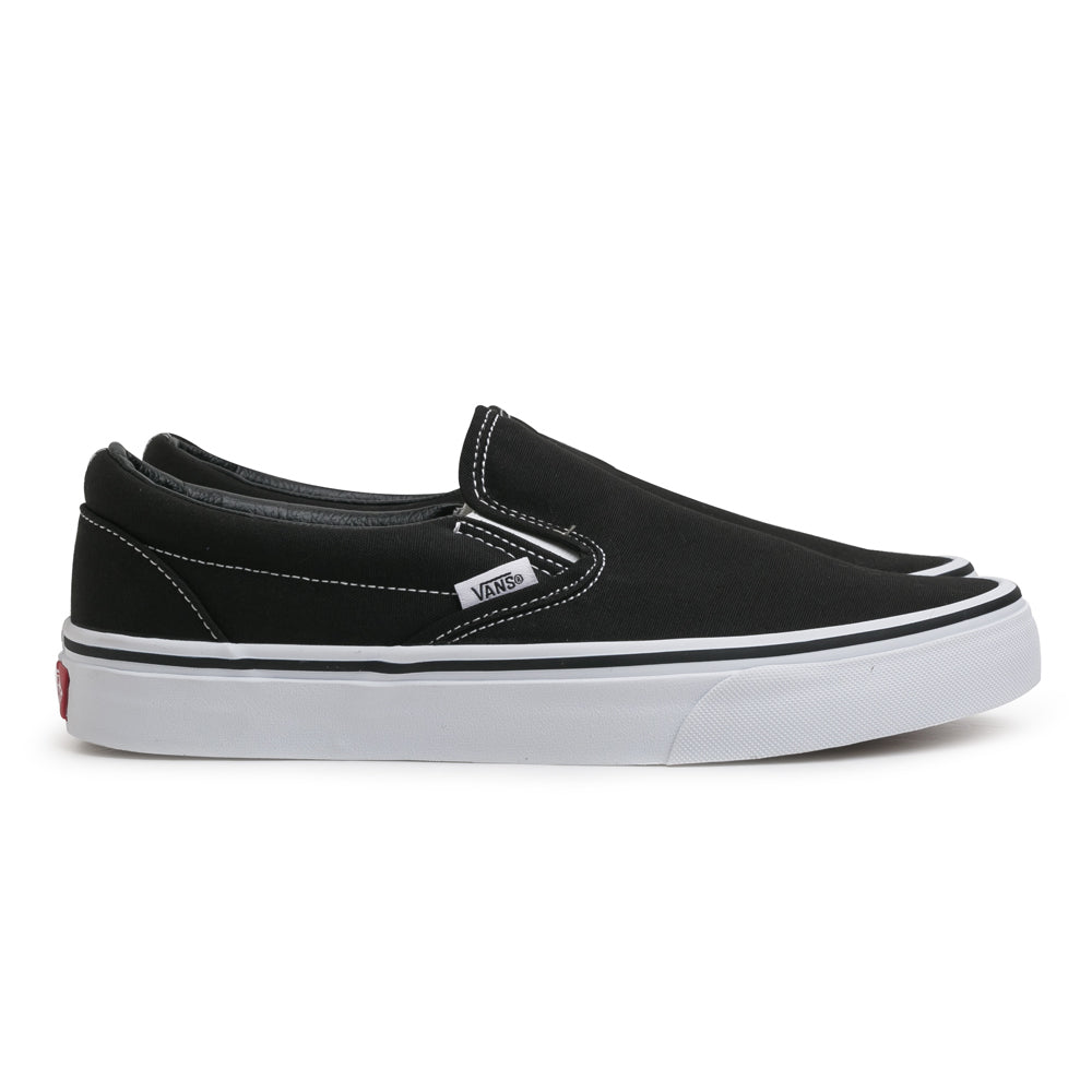 Vans Slip on | Black - CROSSOVER ONLINE