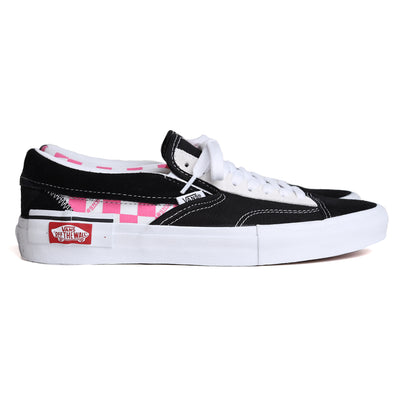 VansSlip On Checkerboard Cap | Black Pink - CROSSOVER