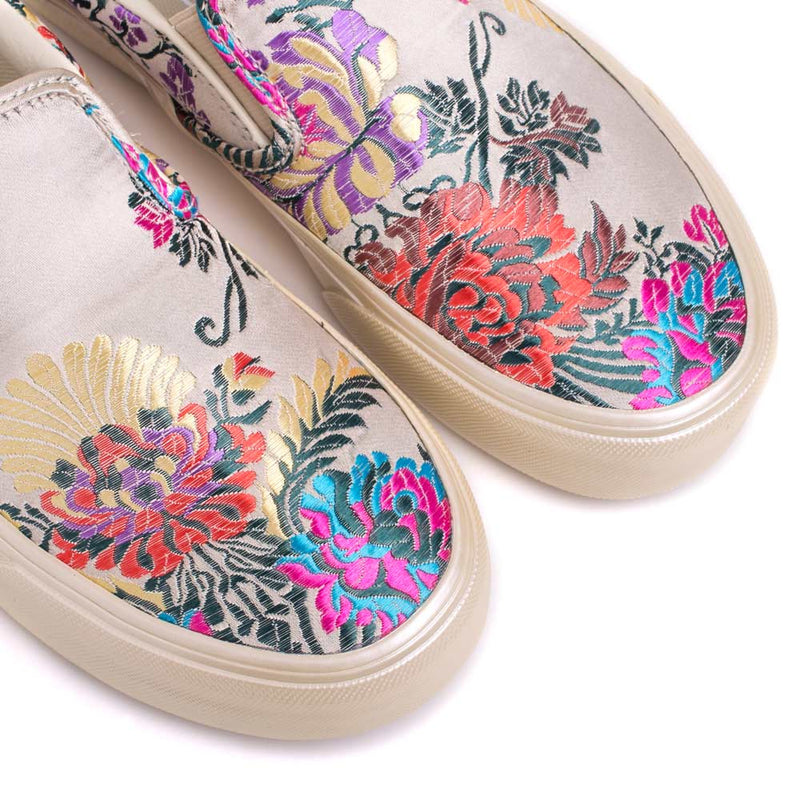 Vans Slip On 'Festival Satin' | Gold - CROSSOVER