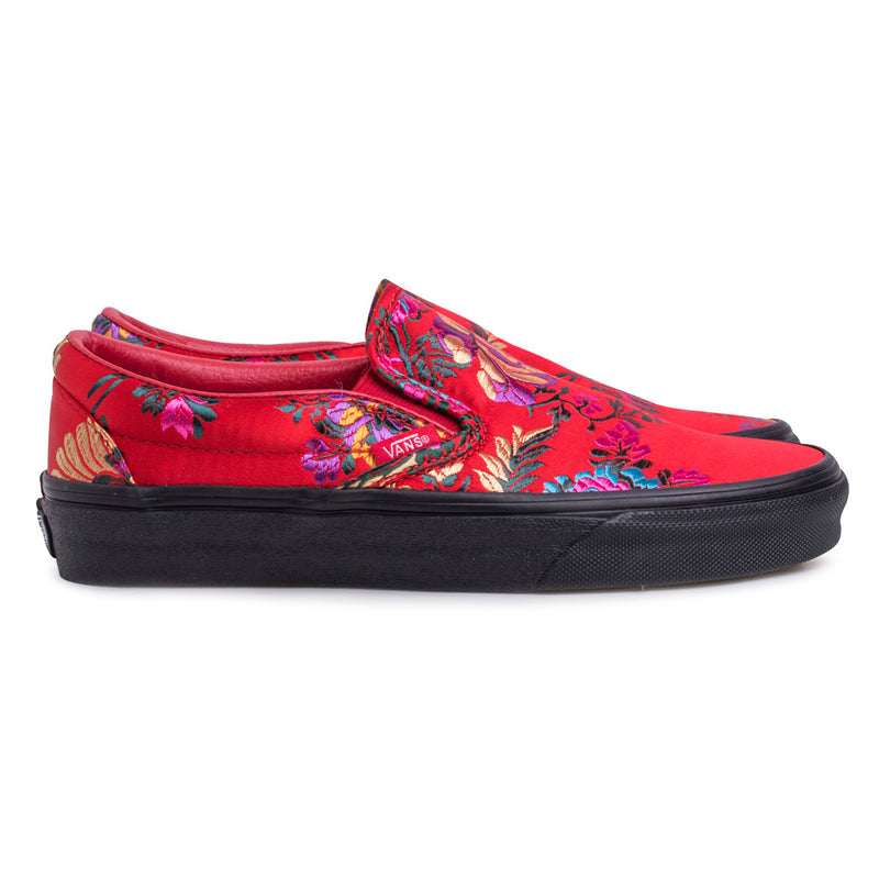 Slip On 'Festival Satin' | Red