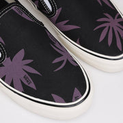 VansSlip On SF 'Summer Leaf' | Black - CROSSOVER