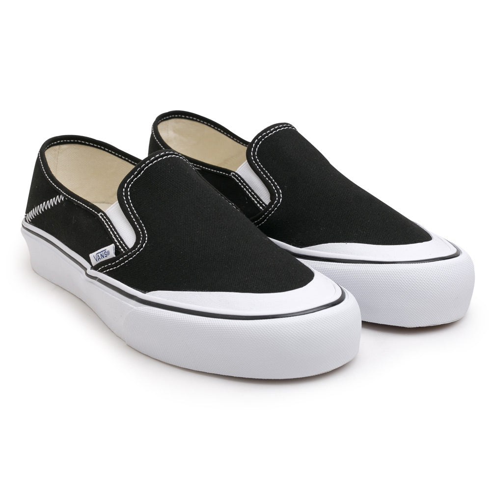 Vans Slip on SF Toe Cap | Black - CROSSOVER ONLINE