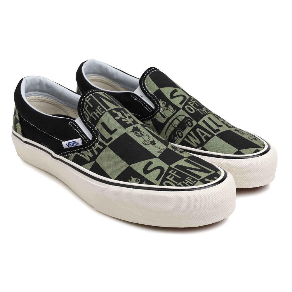 a8b05e64f Vans Vans x Yusuke Hanai Slip On SF | Green - CROSSOVER