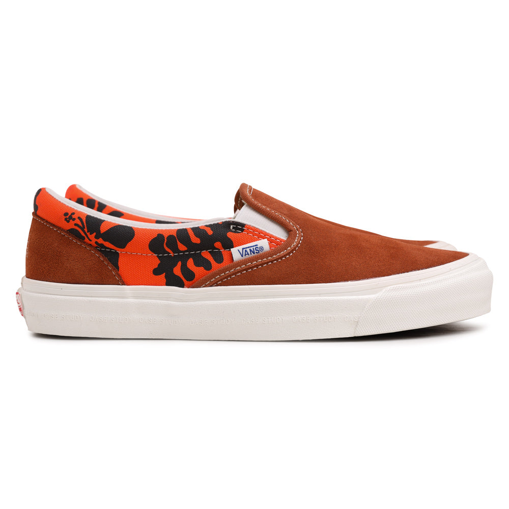 Vans Vans Vault x Modernica OG Slip On LX | Leather Brown - CROSSOVER