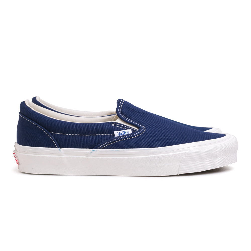 Vans OG Slip On LX | Navy - CROSSOVER ONLINE