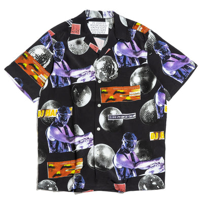 Wacko Maria x DJ Harvey Hawaiian Shirt | Black