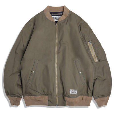 Wacko Maria MA-1 Flight Jacket | Olive - CROSSOVER