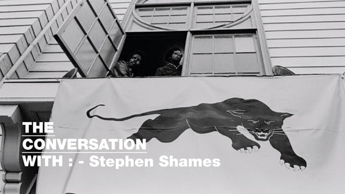 The Conversation with:- Stephen Shames - CROSSOVER