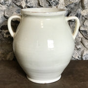 Cream European Glazed Jug