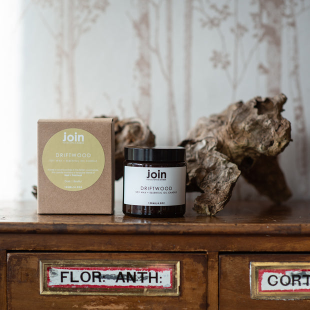 Join Driftwood Candle 120ml