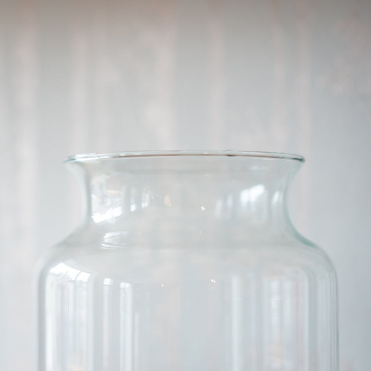 Large Glass Eco Vase