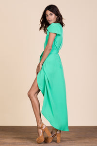CAYENNE DRESS IN SUMMER GREEN