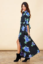 DOVE DRESS IN BLUE PEONY