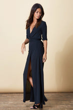 ZAHARA MAXI DRESS IN BLACK