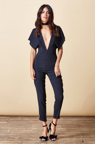 VENUS JUMPSUIT IN BLACK