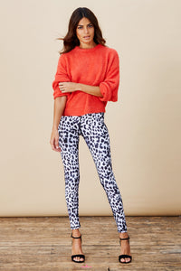 ALEXA LEGGINGS IN SNOW LEOPARD