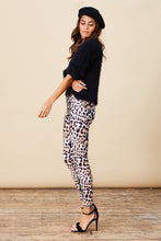 ALEXA LEGGINGS IN NUDE LEOPARD