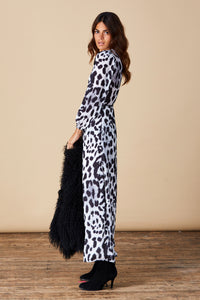 JAGGER MAXI IN SNOW LEOPARD