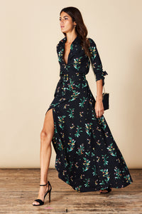 DOVE DRESS IN MIDNIGHT PARADISE