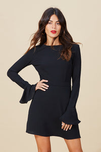 MADIGAN DRESS IN BLACK