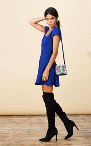 HEIDI DRESS IN ROYAL BLUE