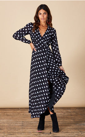 JAGGER MAXI IN PAINTED DOT