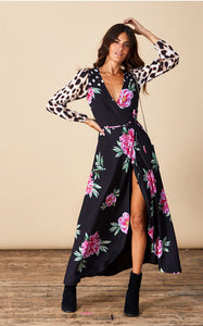 JAGGER MAXI PRINT IN PINK PEONY MIX