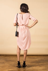 CHIQUITA DRESS IN BLUSH PINK