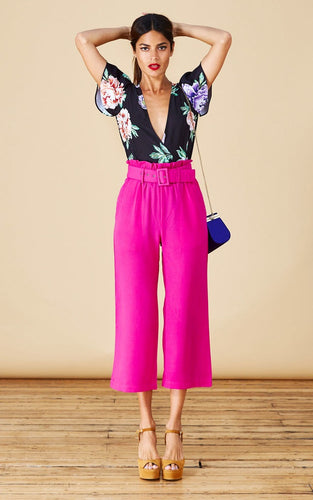 BRONX TROUSERS IN HOT PINK
