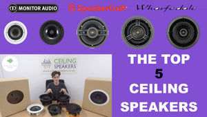The Best Ceiling Speakers + VIDEO