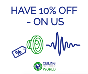 10 Off Your Ceiling Speaker World Order Discount Code