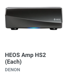 Heos Amp HS2 Amplifier