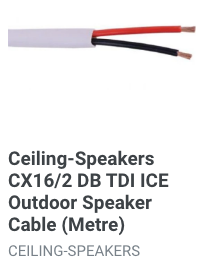 ceiling-speakers-cx16-2-db-tdi-ice-outdoor-speaker-cable-metre