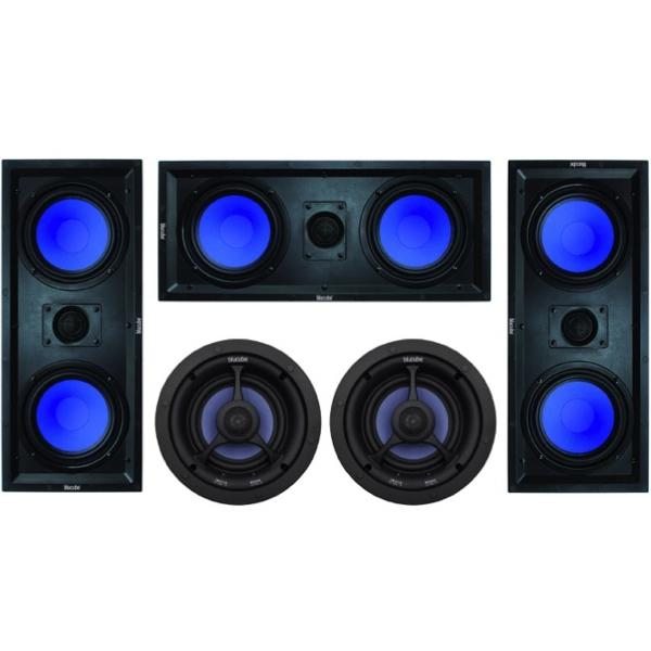 BluCube-CXRL-650-LCR-In-Wall-Speaker-AV-Package