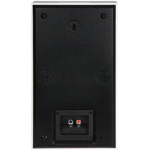 DLS-FLATBOXMIDI-BLK-On-Wall-Speaker