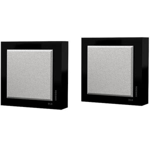 DLS-FLATBOXSLIMMINI-BLK-On-Wall-Speaker