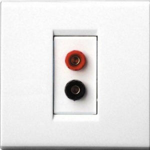 QED WM09 Wall plate for single (mono) speaker (Each)