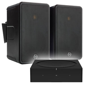 SONOS Amp & 2 x Monitor Audio CL50 Outdoor Speakers