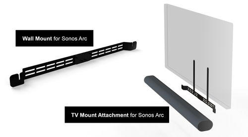 TV Mount Attachment for Sonos Arc