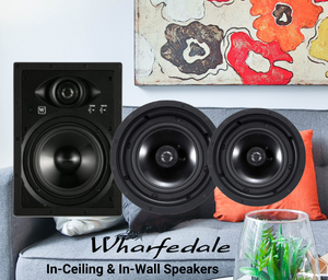 Wharfedale WCM-80 In Ceiling Speakers (Pair) - Open Box -  Sold out