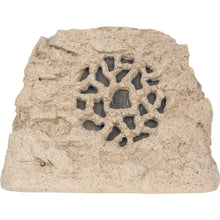 speakercraft ruckus 6 one outdoor rock speaker sandstone