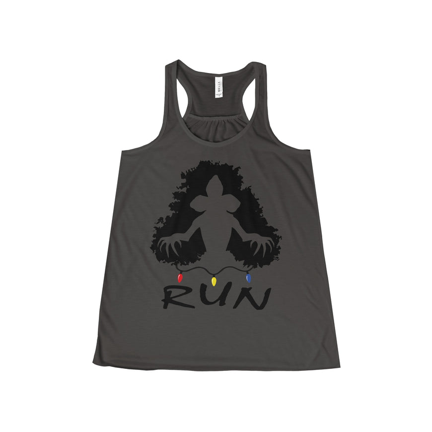 demogorgon run stranger things women's tank top Nerdedness