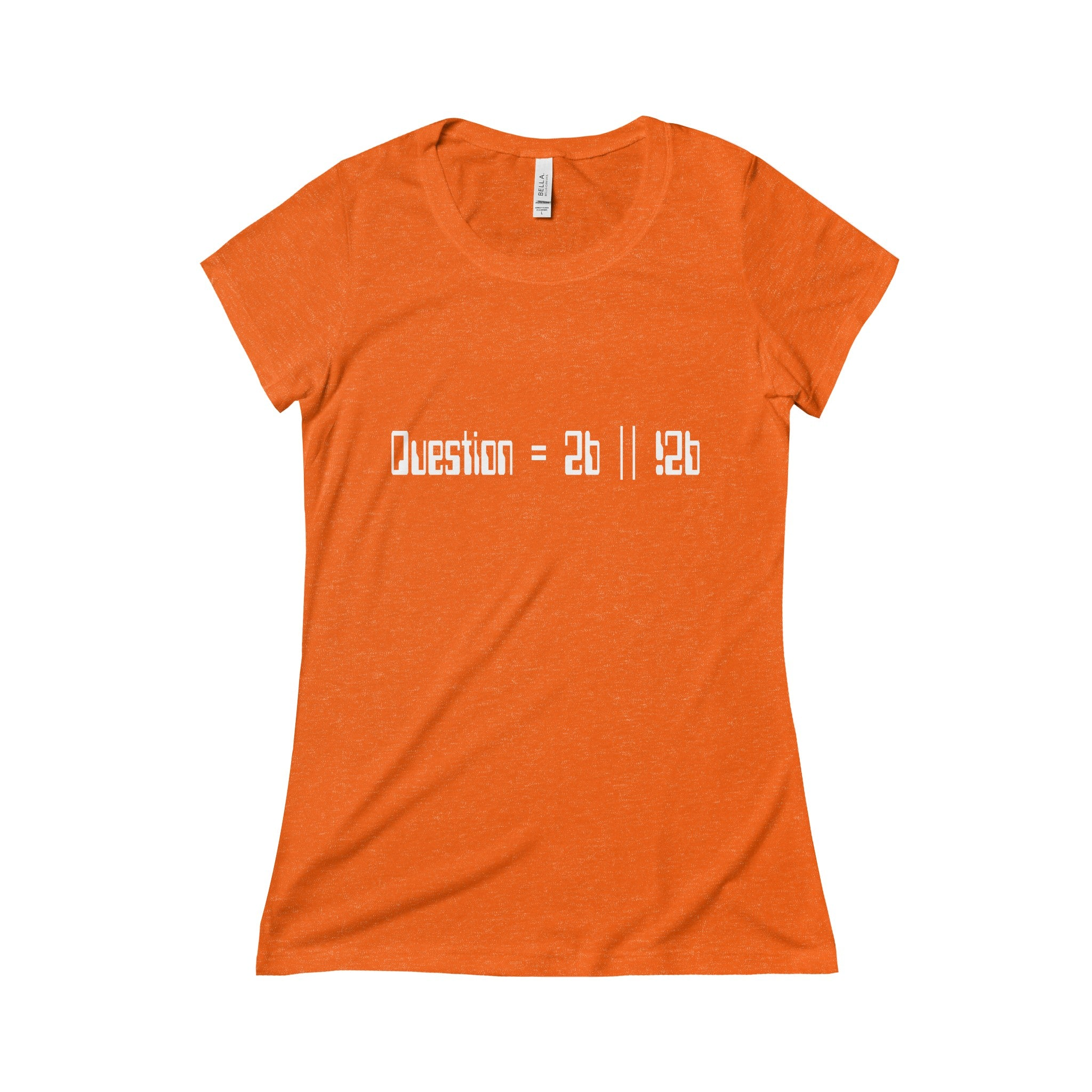 to be or not to be pseudocode women's t-shirt Nerdedness