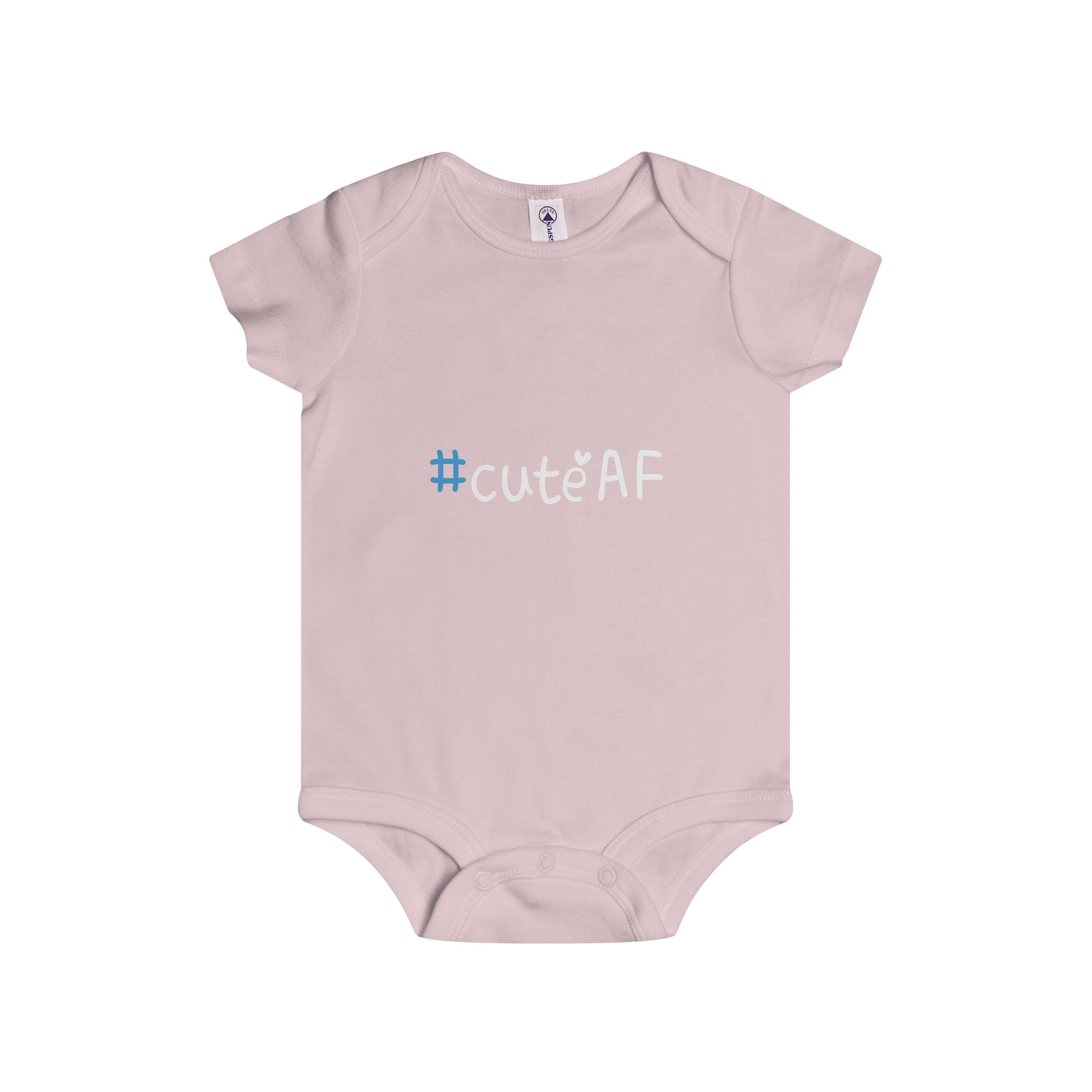 cuteAF hashtag #cuteAF infant's unisex onesie Nerdedness