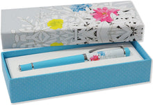 Load image into Gallery viewer, Floral Roller Ball Pen