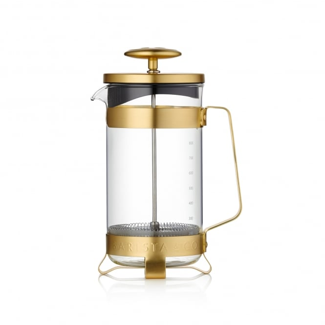 Barista & Co. 8 Cups Coffee Press - Midnight Gold