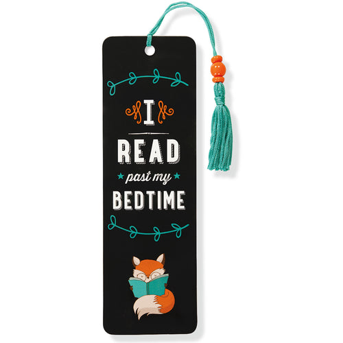 I Read Past My Bedtime Bookmark
