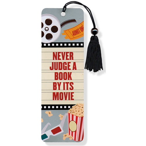 Never Judge A Book By Its Movie Bookmark