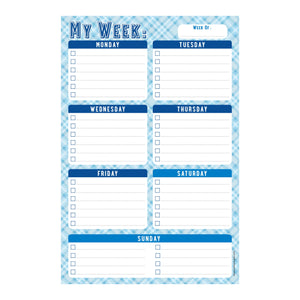 Weekly Planner Note Pad